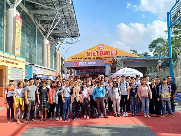 Học viên CBS tham quan Triển lãm Quốc tế Vietbuild 13.04.2019