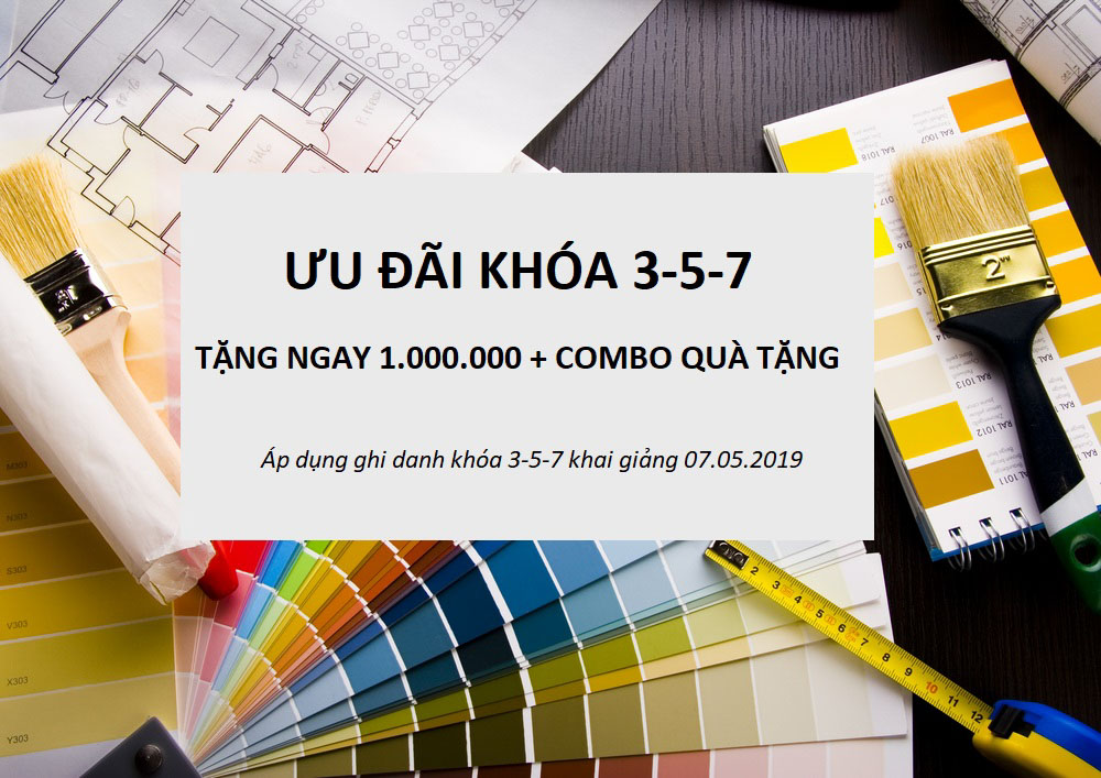 ƯU ĐÃI GHI DANH KHÓA 3-5-7 THÁNG 05.2019