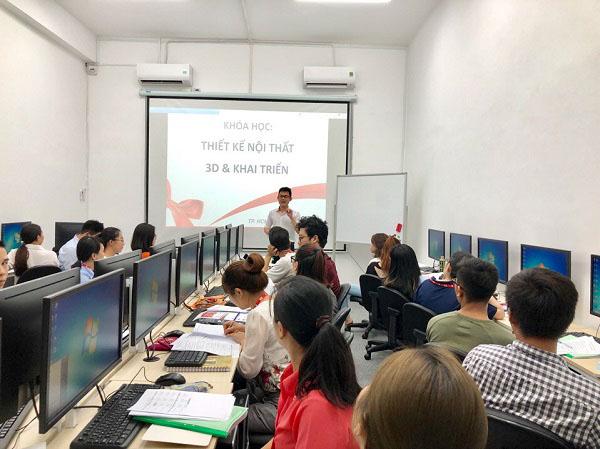 Khai giảng lớp THIẾT KẾ NỘI THẤT 11 THÁNG khóa 03.2019