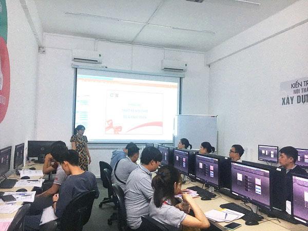 Hình ảnh khai giảng lớp HỌA VIÊN NỘI THẤT PRO 3D lớp tối 3-5 khóa 06.2020