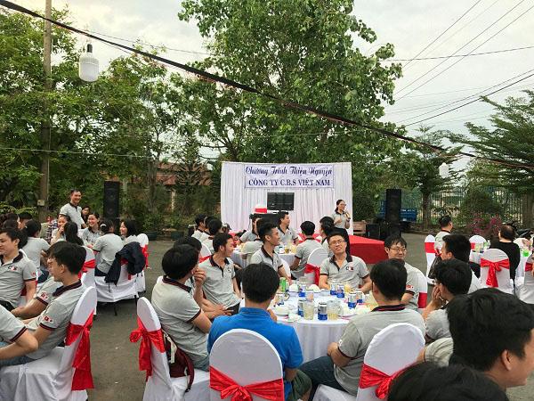 Chương trình Thiện nguyện ý nghĩa cuối năm 2018 - Chào  2019  - Công ty CBS Việt Nam tổ chức