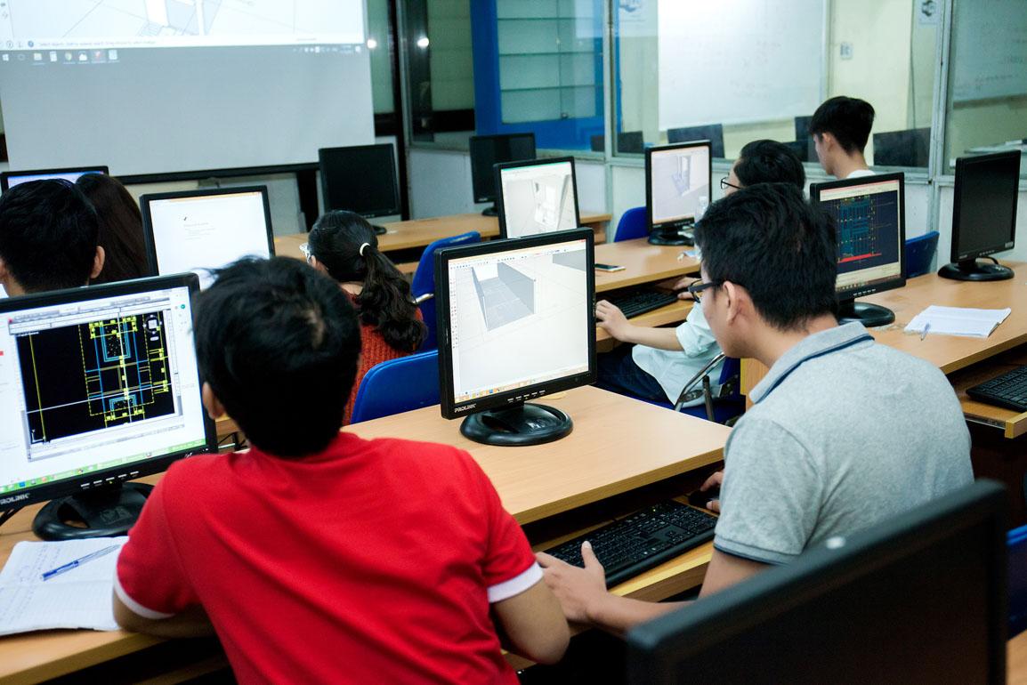 Khóa học AutoCAD chất lượng Nhật Bản ở HCM