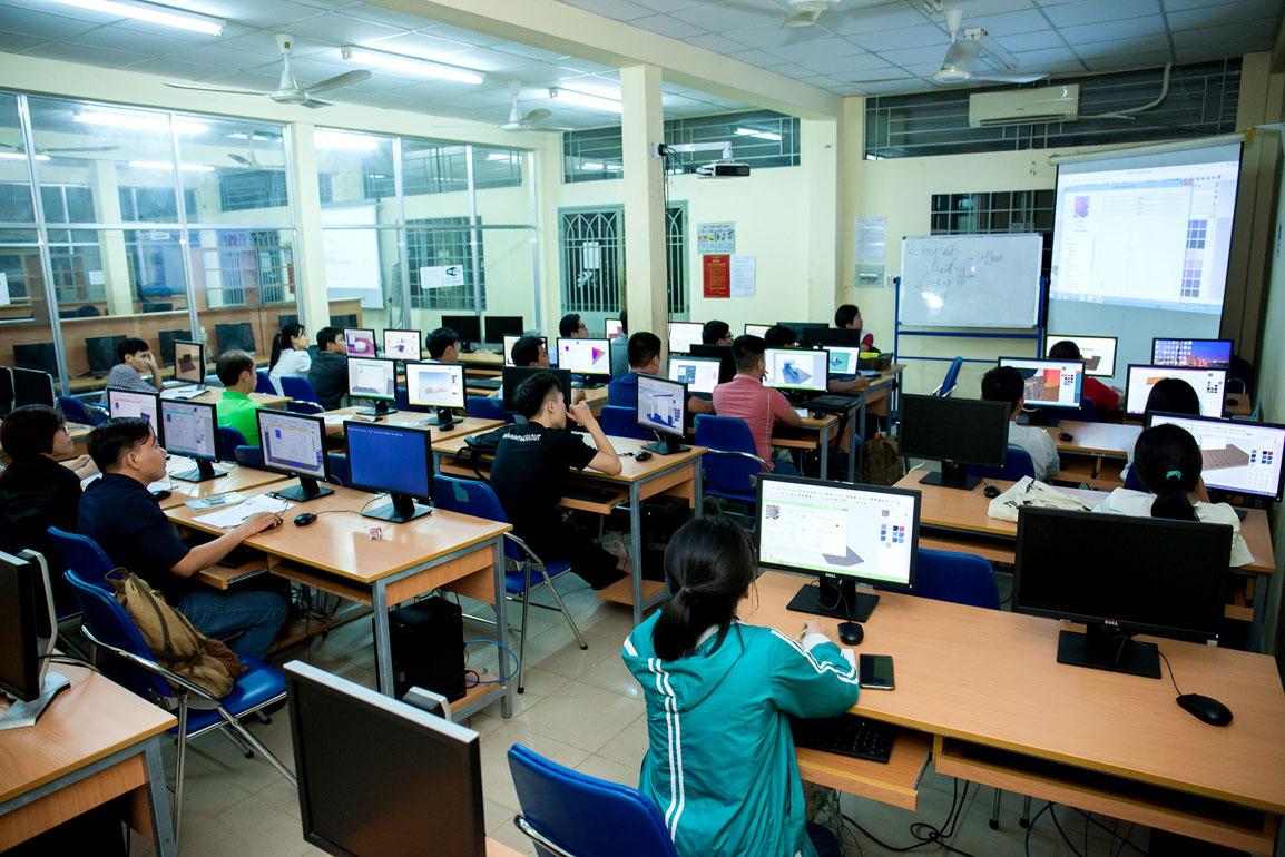 Khóa học AutoCAD làm đồ án kiến trúc tốt nhất cho sinh viên ở Tp.HCM