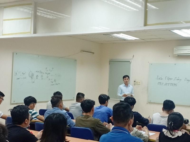 Hình ảnh khai giảng lớp HỌA VIÊN KIẾN TRÚC 12 THÁNG khóa 10.2019