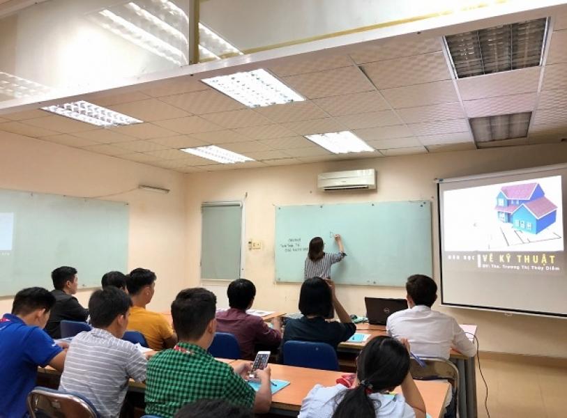 Hình ảnh Khai giảng lớp HỌA VIÊN KIẾN TRÚC 12 THÁNG khóa 03.2019