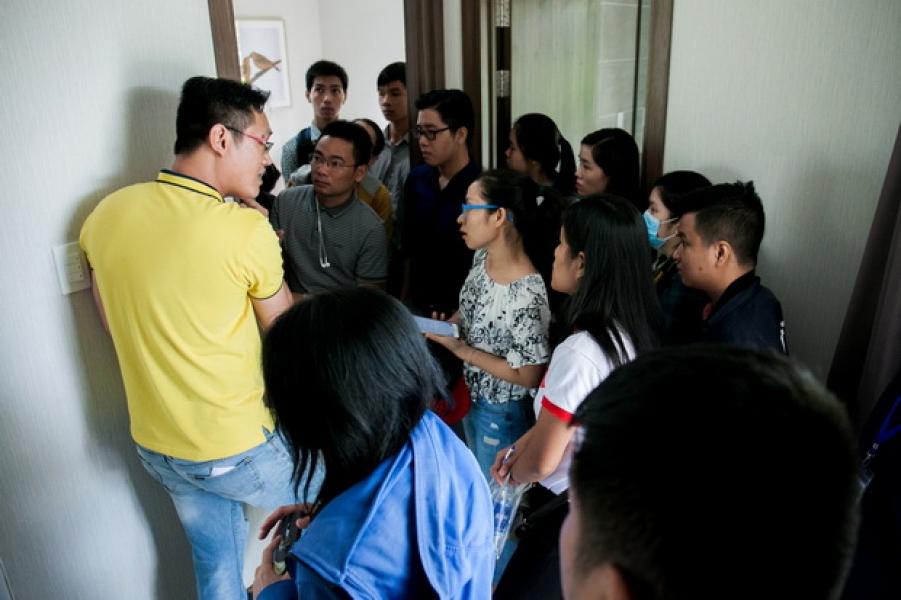 Chuyên đề ngoại khóa 9.2017 – Dự án Kikyyo Residence Nam Long Q.9