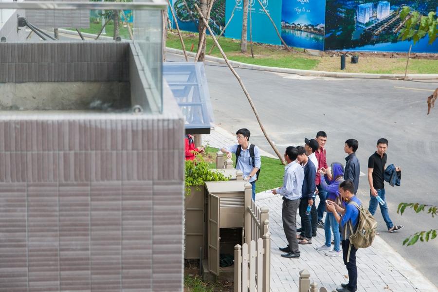 Học viên CBS tham gia Chuyên đề ngoại khóa – Tìm hiểu công trình thực tế tại Fuji Nam Long