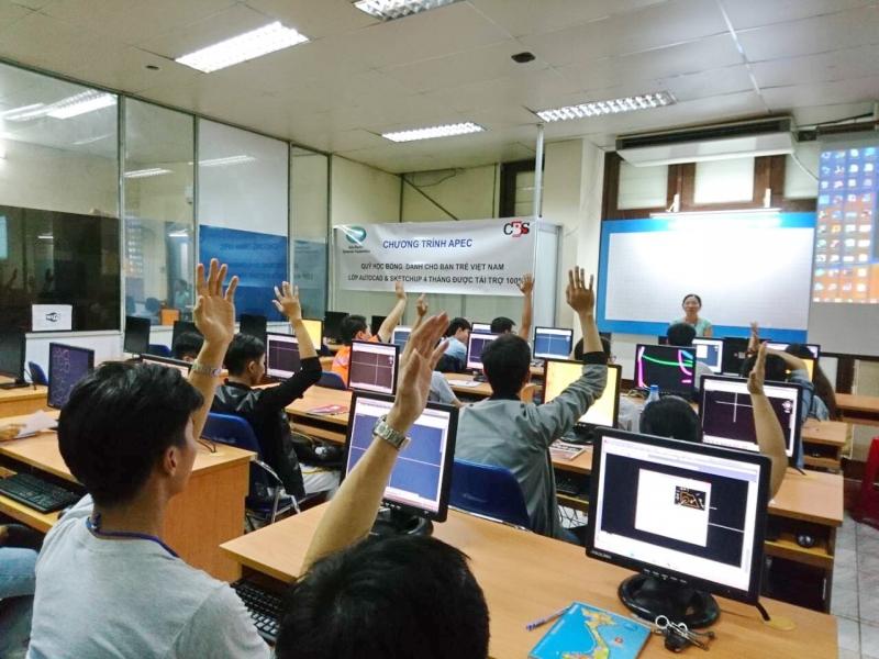 APEC tài trợ 100% - Khai giảng lớp AutoCAD, Sketchup 2017